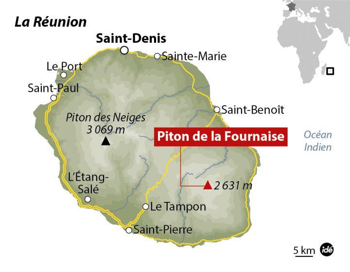 piton de la fournaise carte Global Volcanism Program   Report on Piton de la Fournaise (France